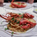 レガリア - カナダ産オマール海老とフレッシュトマトのリングイネ☆