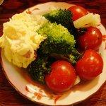 まん福亭 - 本日の親父のサラダ