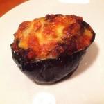 ムッシュたけぞう - 牛挽き肉となすのチーズグラタン焼き