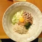 つけ麺 鐵匠 - 2015年5月 油そば 780円