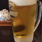 丸浜 - 生ビール