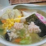 40234146 - 巣鴨駅、蔵王の五目雲呑麺