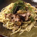 スパゲッティ食堂 みどりや - 料理写真:アサリ・シメジ・バジリコε-(´∀`; )