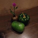 分田上 - 姫冬瓜、かぼちゃ