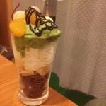 寿々菜屋 - チョコバナナパフェ