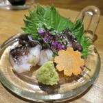 喜や - 活トリ貝の造り