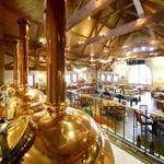 ダニエルハウス - 店内併設のビール醸造所