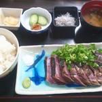 土佐たたき道場 - 定食1300円