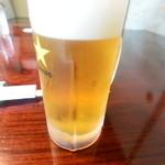 草乃 - 生ビール 650円 2015.7