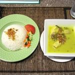 インドネシアレストラン TARY HOUSE - インドネシアチキンカレーセット