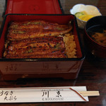 川京 - 料理写真:特上うな重