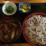 昭府石ケ谷 そば店 - 料理写真:鴨せいろ大盛り1150円