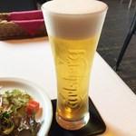 バルバニーカフェ - 生ビール(H27.7)