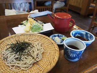 湧水 - 天ざる(¥1400)