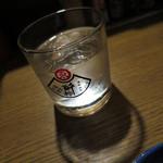 武鳥 - いも焼酎ロック_430円