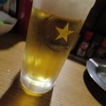武鳥 - 生ビール_510円