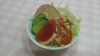 ふくりゅう軒 - 『ミニサラダ』200円