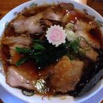 いちまる - 生姜醤油チャーシュー麺