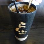 珈琲屋 らんぷ - 2015.07 アイスコーヒー