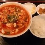 40251452 - 週替り定食(酸辣湯麺)600円
