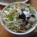 ユトリ珈琲店 - サラダは、サラダバーからセルフで・・・