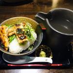 伊達な仙台炉端 強次朗 - 鮭茶漬け