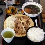 光玉母食堂 めし しんちゃん - 生姜焼き(友人)
