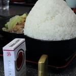 光玉母食堂 めし しんちゃん - 日本昔ばなし盛り(友人)
