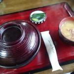40253263 - カツ丼 大盛り 味噌汁付き(¥900)