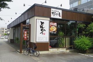富山豚食堂 かつたま - 富山肉食堂かつたま 店頭