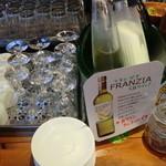 Kirinshithipurasu - ハウスワイン、ドリンクバー込