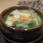 霞庭 まつばら - 鴨と冬瓜のスープ煮