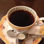 喫茶野田 - ブレンドコーヒー380円o(^▽^)o