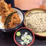 40256392 - たれづけ大江戸天丼、小そばセット