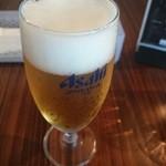 ブル - グラスビールで胃袋活性化!