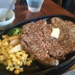 ブル - 柔らかっΣ(゚Д゚)!サラッと食べれちゃうステーキ堪らん♪