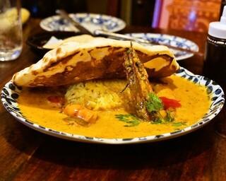 印度料理シタール - 2015.7 ボンベイ風ジンガーシュリンプ(1,998円)