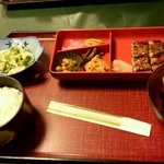 味慎 - うなぎ定食 1800円