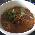麺屋ジョニー - 濃厚ですが、すっきりとしたスープ