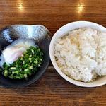 麺場 ふうらいぼう - 温玉付おじやごはん(2015年7月)