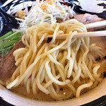 麺場 ふうらいぼう - 濃厚しおらーめん(大盛り)(2015年7月)