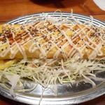 播州佐用名物(つけ麺)ホルモン焼うどん テン - イカ焼き?