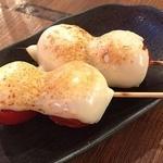 えん家 - トマトチーズ 1本 120円