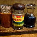 味処 はつくら - 埼玉県八潮市のオールスパイス商会の七味唐がらし