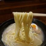 鶏真 - 太麺
