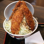 やまなみ - 鮎ソースカツ丼