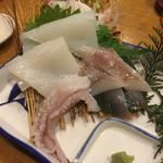 土佐わら焼き料理 みやも亭 - 白イカの造り