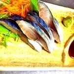かまくら - 新鮮な鯖をお店で酢〆した自家製のしめ鯖です!
