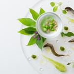クルーズクルーズTHE GINZA - 稚鮎のコンフィー 蓼のピストゥと潤香ソース