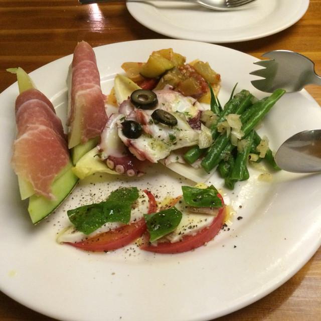 ターボラ - 前菜の盛り合わせ(1350円)